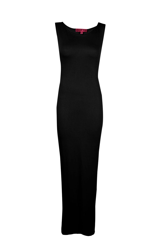 Женское платье с открытой спинкой